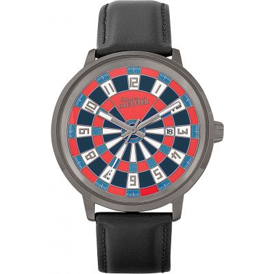 Jean Paul Gaultier Cible Cible Herrenuhr in Schwarz JP8504801