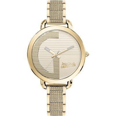 Jean Paul Gaultier Index G Dameshorloge Goud JP8504322
