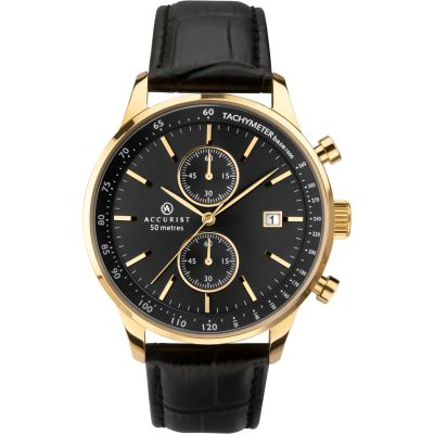 Mens Accurist Exclusive Chronograph Watch 7278
