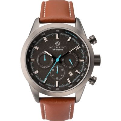 Mens Accurist Chronograph Watch 7282