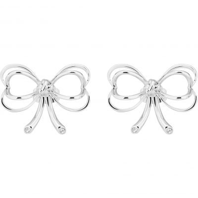 Joyería Ted Baker Jewellery Lakia Small Heart Bow Stud Earrings TBJ1889-01-02