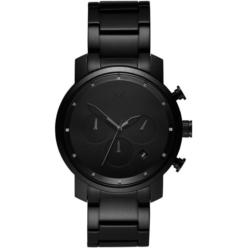 MVMT Black Link Chrono 40 Watch