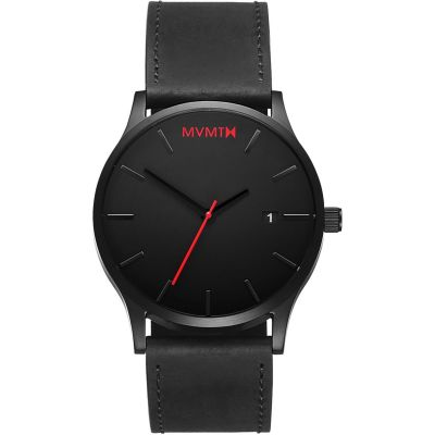 Montre Homme MVMT Black Leather Classic L213.5L.551