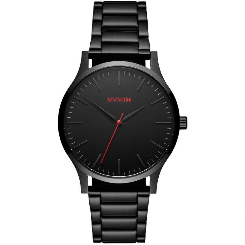 MVMT Black Link 40 Series Watch