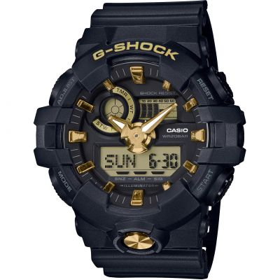 Casio G-Shock Combi Herrenuhr in Schwarz GA-710B-1A9ER