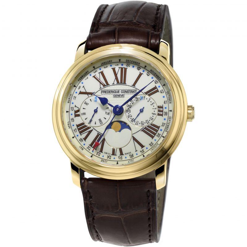 Frederique Constant Classics Business Timer Watch