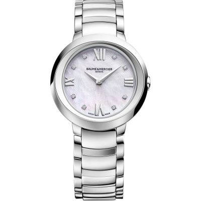 Ladies Baume & Mercier Promesse Diamond Watch M0A10158