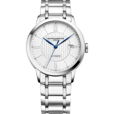 Mens Baume & Mercier Classima Automatic Date Watch M0A10215