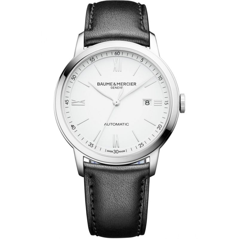 Mens Baume & Mercier Classima Automatic Date Watch M0A10332