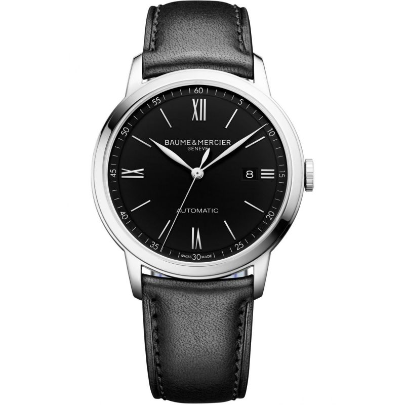 Mens Baume & Mercier Classima Automatic Date Watch M0A10453
