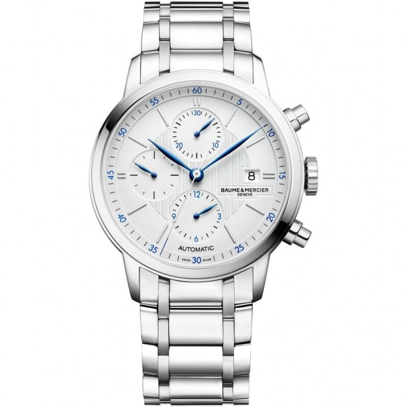 Mens Baume & Mercier Classima Automatic Chronograph Watch M0A10331