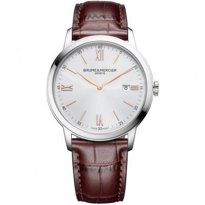 Mens Baume & Mercier Classima Date Watch M0A10415