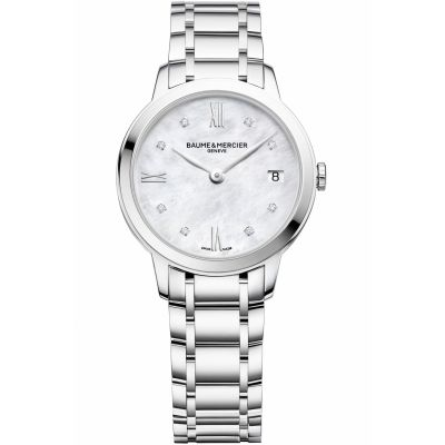 Ladies Baume & Mercier Classima Diamond Watch M0A10326