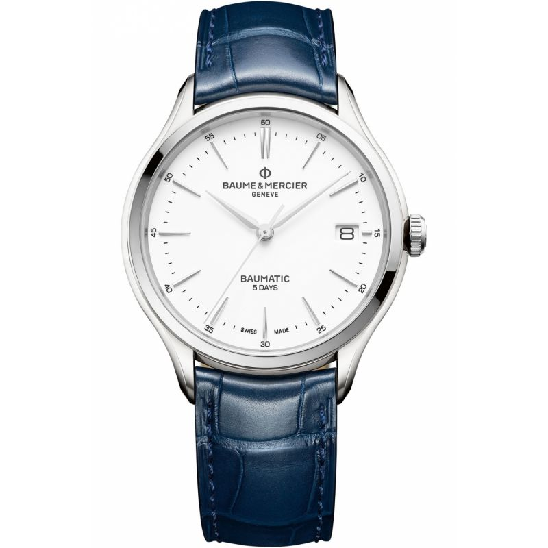 Mens Baume & Mercier Clifton Baumatic Automatic Date Watch