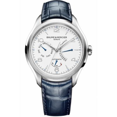 Montre Homme Baume & Mercier Clifton Power Reserve Retrograde Date M0A10449