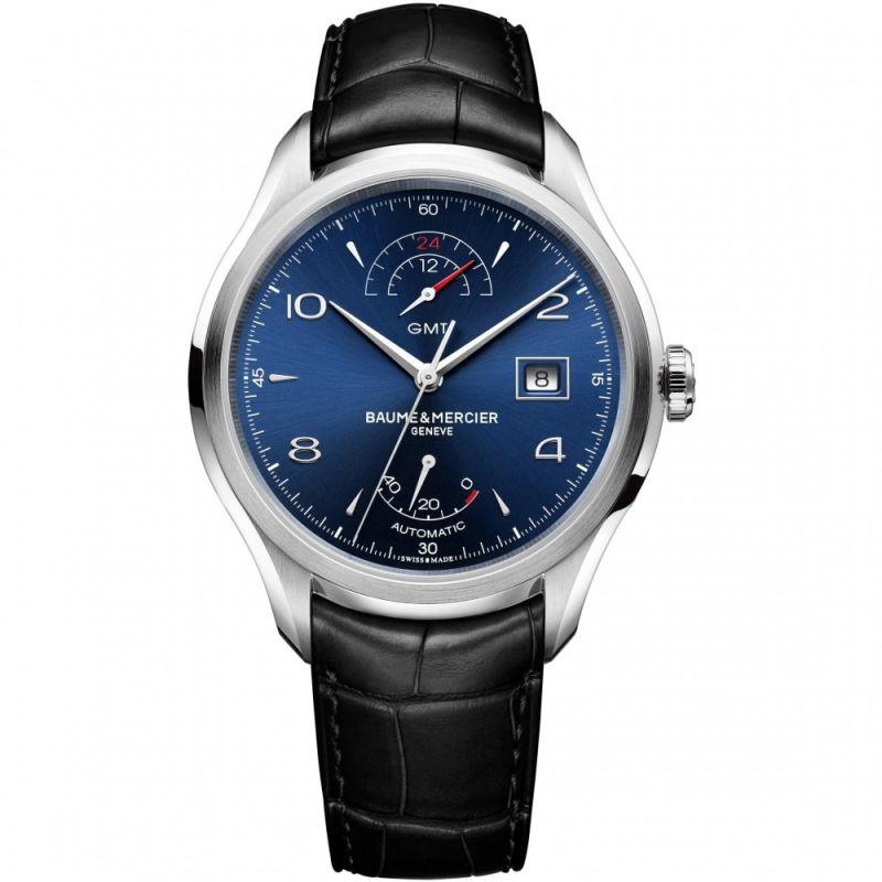 Mens Baume & Mercier Clifton Automatic GMT Watch