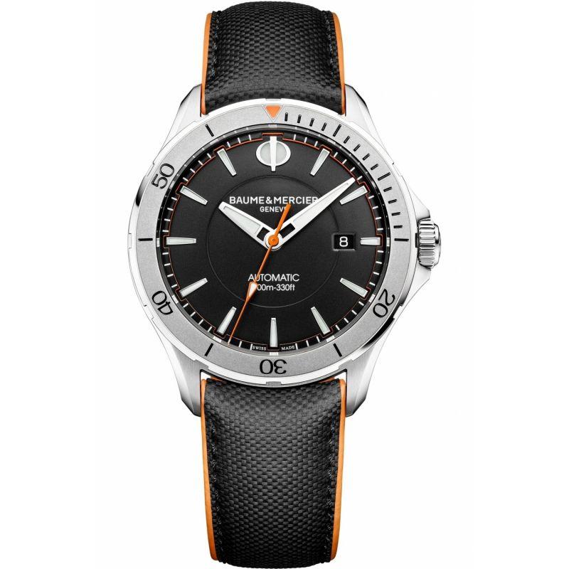 Mens Baume & Mercier Clifton Club Automatic Date Watch