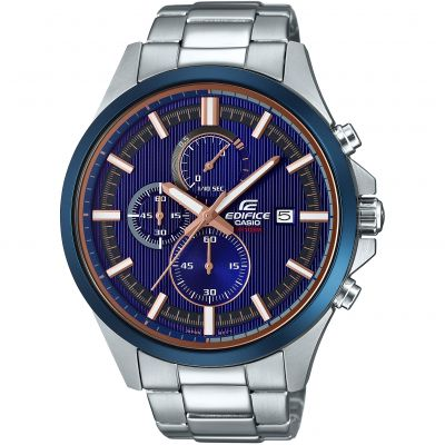 Mens Casio Chronograph Watch EFV-520DB-2AVUEF