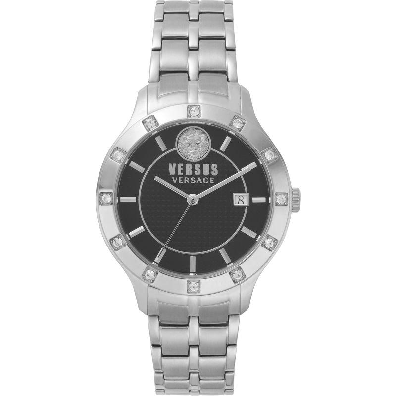 Ladies Versus Brackenfell Black Dial On A Stainless Steel Bracelet Watch