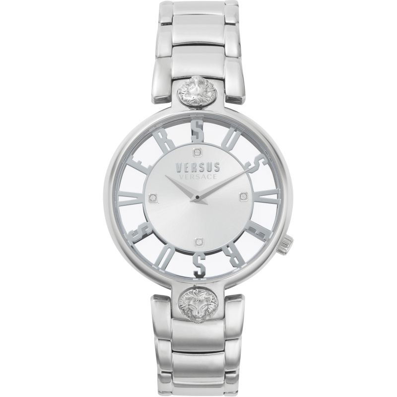 Ladies Versus Kirstenhof Silver Dial On A Stainless Steel Bracelet Watch
