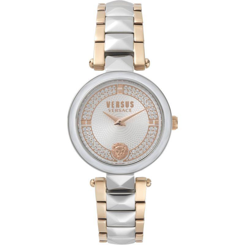 Ladies Versus Covent Garden Silver Dial Watch