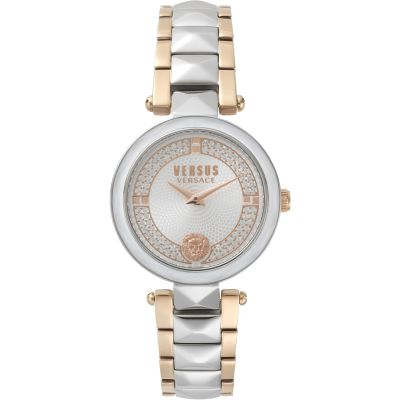 Ladies Versus Covent Garden Silver Dial Watch