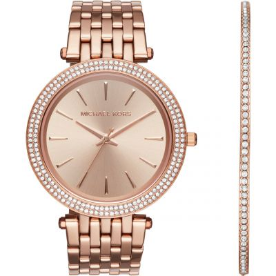 Michael Kors Darci Watch & Bracelet Gift Set