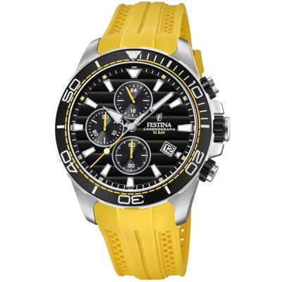 Festina Originals - The Tour Of Britain 2018 Herenchronograaf Zwart F20370/2