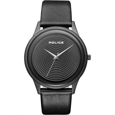 Police Salerno Herrenuhr in Schwarz 15524JSB/02