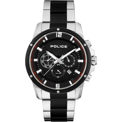 Mens Police Shandon Watch 15525JSTB/02M