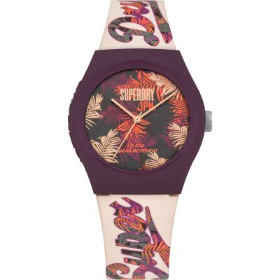 Ladies Superdry Urban Tropicana Watch SYL247PV