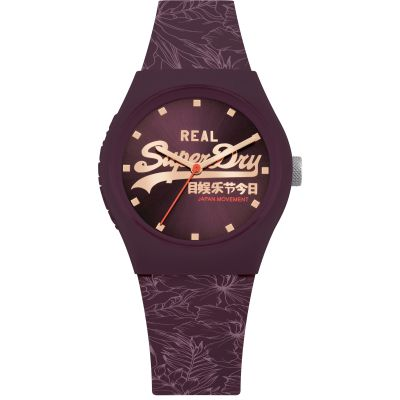 Ladies Superdry Urban Leaf Watch SYL248V
