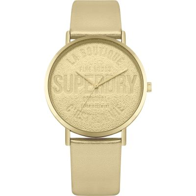 Superdry Oxford Parisian Dameshorloge Goud SYL251G