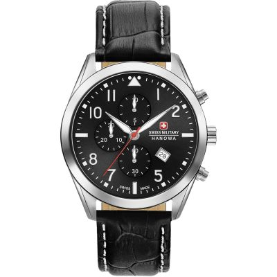 Mens Swiss Military Hanowa Helvetus Chrono Watch 06-4316.04.007