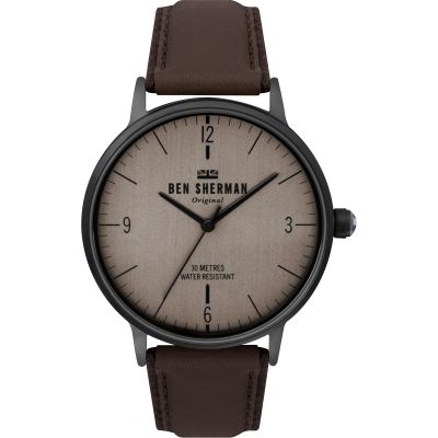 Ben Sherman London Herrklocka Brun WB021TB