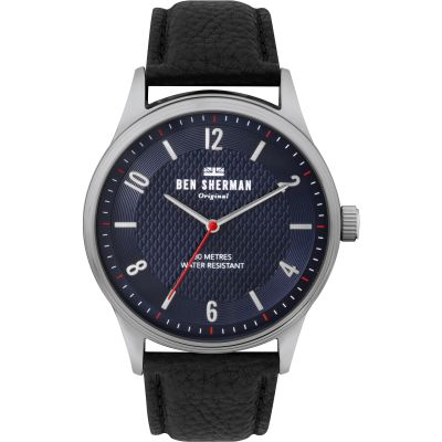 Ben Sherman London Herrenuhr in Schwarz WB025UB