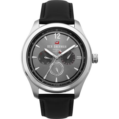 Ben Sherman London Herrenuhr in Schwarz WBS112B