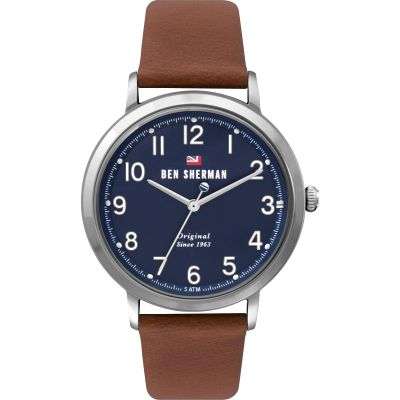 Ben Sherman London Herenhorloge Bruin WBS113UT