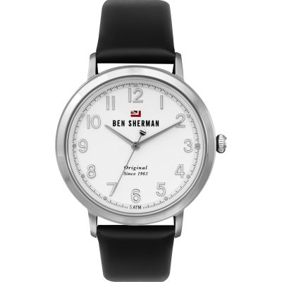 Ben Sherman London Herenhorloge Zwart WBS113B