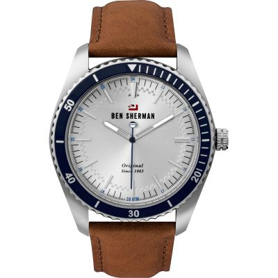 Ben Sherman London Herenhorloge Bruin WBS114UT
