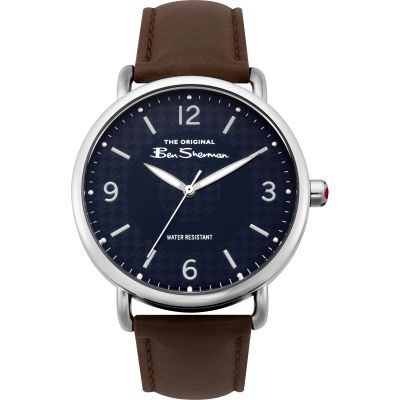 Ben Sherman Herrenuhr in Braun BS015BR