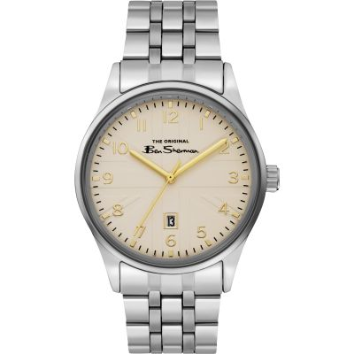 Ben Sherman Herrenuhr in Braun BS017GSM