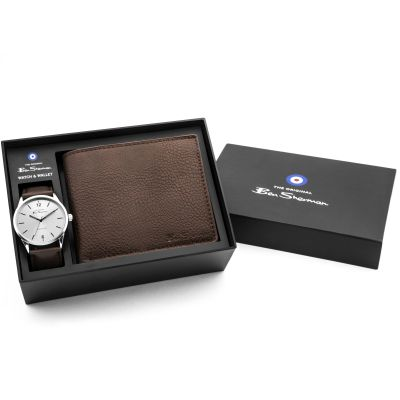 Ben Sherman Watch & Wallet Gift Set BS163G