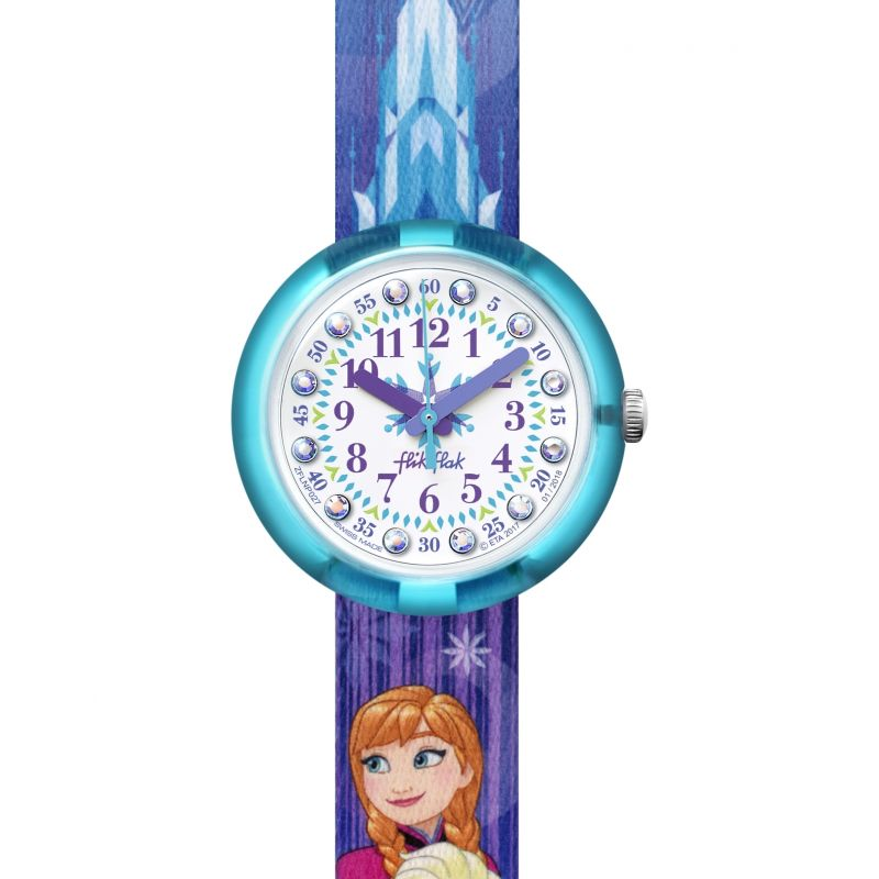 Flik Flak Disney Frozen Elsa & Anna Watch FLNP027