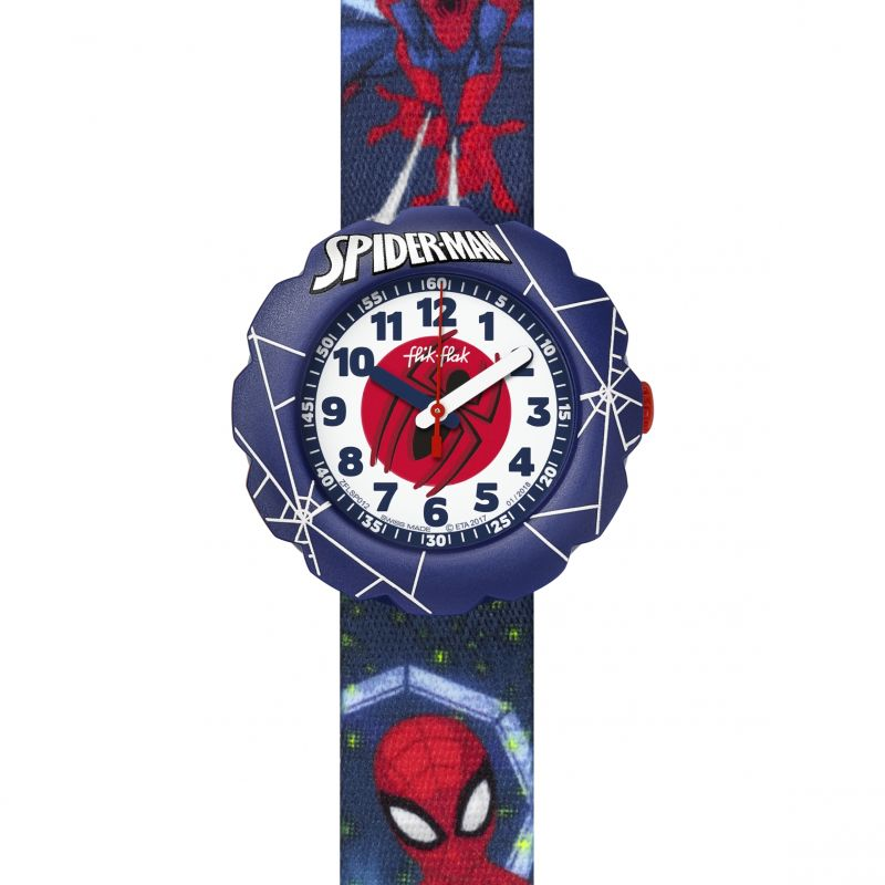 Flik Flak Spider-Man In Action Watch FLSP012