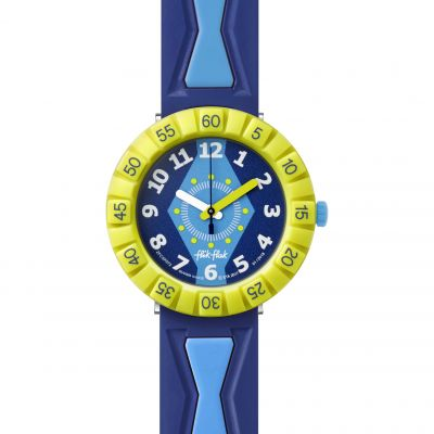 Flik Flak Going On A Trip Get It In Royal Kinderuhr in Blau FCSP072