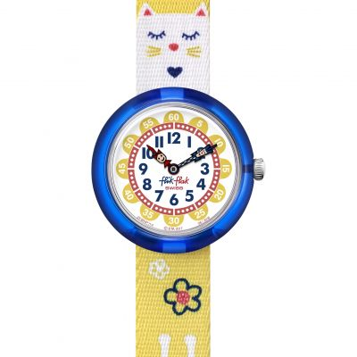 Montre Enfant Flik Flak Jumping Cat FBNP114