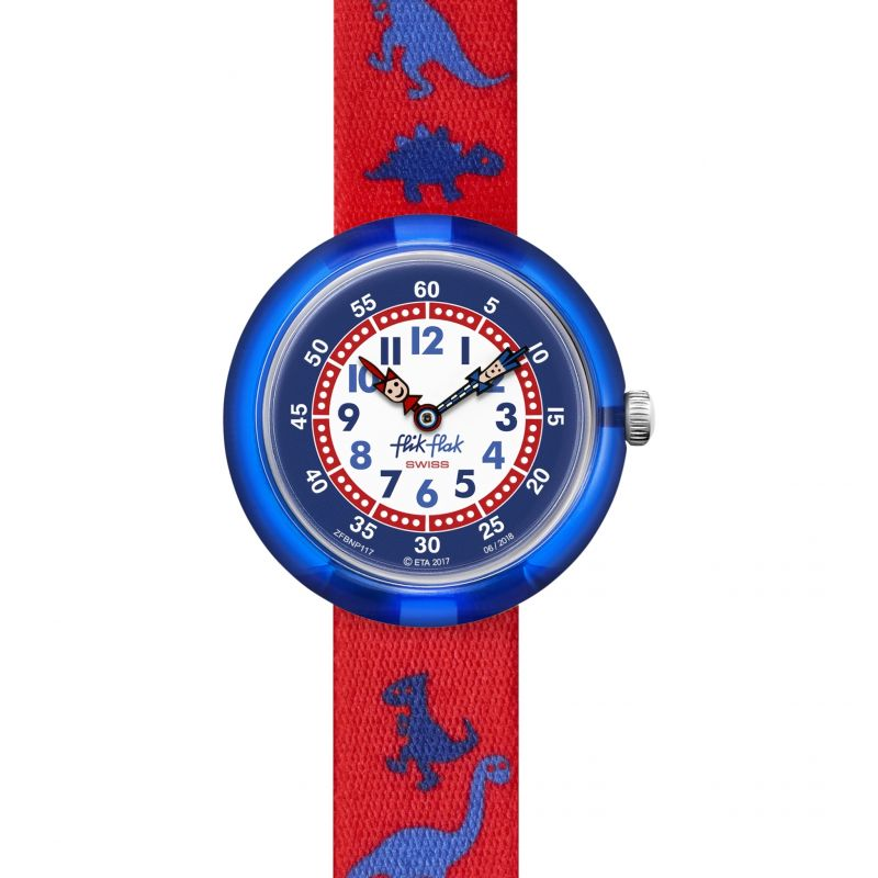 Flik Flak Dinosauritos Watch FBNP117 for £28