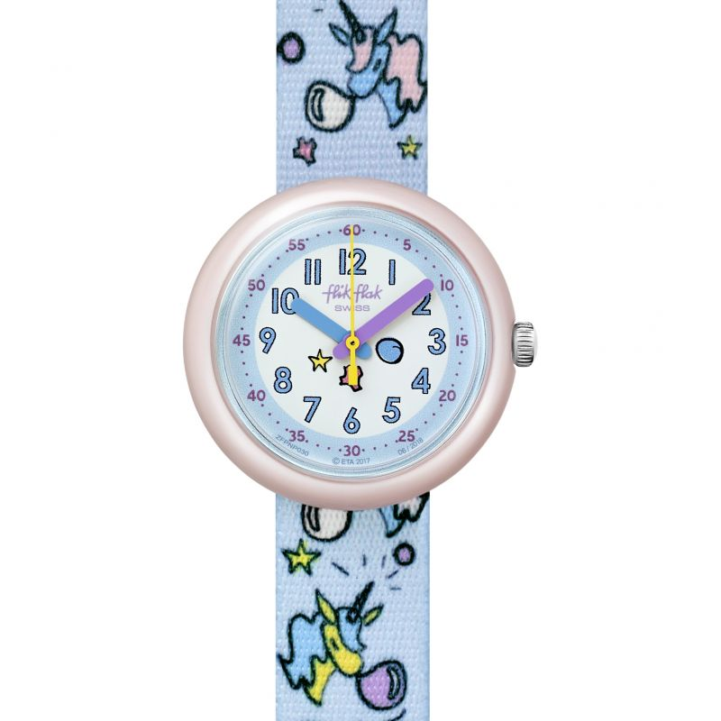 Flik Flak Bubblicorn Watch FPNP030