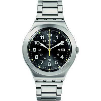 Swatch Happy Joe Rugged Happy Joe Lime Herrenuhr in Silber YWS439G